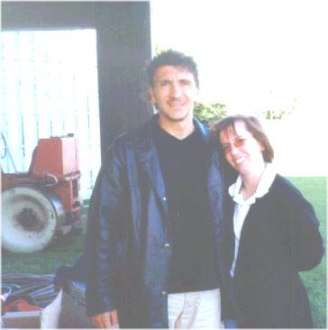 Ivano Bonetti and Linda Broughton