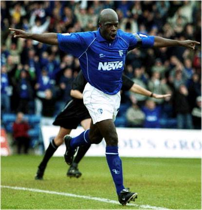 Iffy Onuora in action