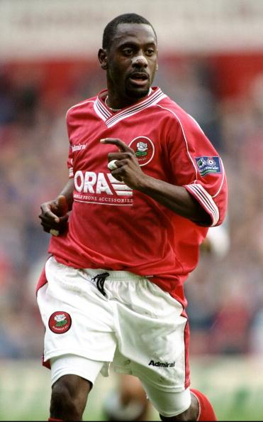 Clint Marcelle in action