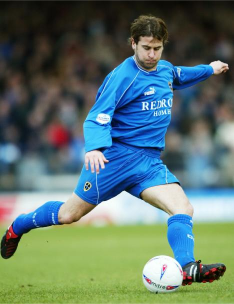 Gary Croft in action