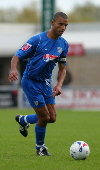 Justin Whittle in action